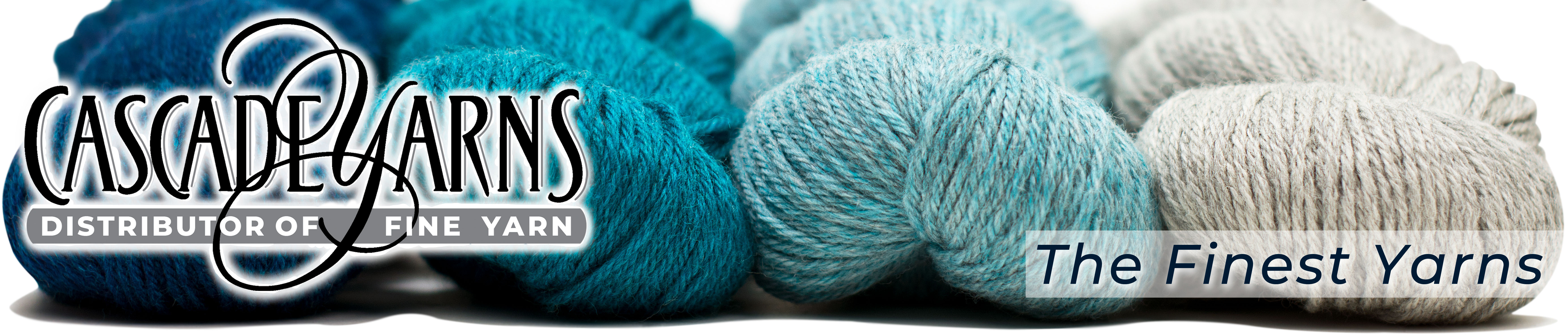 Cascade Yarns | Distributor Of Fine Yarns -- The Finest Yarns [header image]