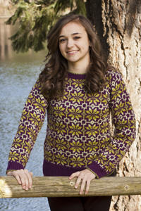 Cascade Yarns®  Free 220 Superwash®  pattern W229 Women's Faire Isle Pullover