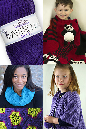 Cascade Yarns Free Patterns for Anthem and Anthem Chunky